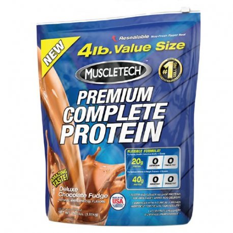 MUSCLETECH PREMIUM COMPLETE PROTEIN 4LBS.