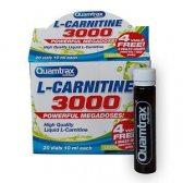 QUAMTRAX L-CARNITINE 3000 20 AMPOLLAS 10 ML