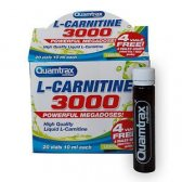 QUAMTRAX L-CARNITINE 3000 20 AMPOLLAS 25 ML