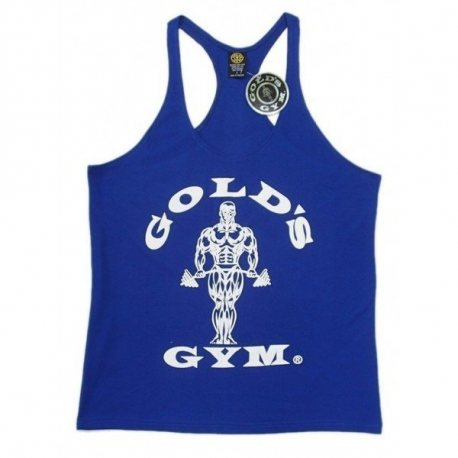 CAMISETA GOLD'S GYM AZUL