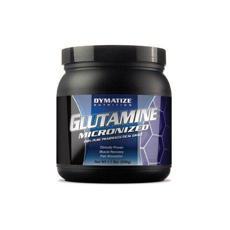 DYMATIZE GLUTAMINA MICRONIZADA 500 G