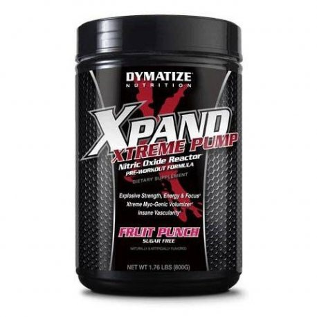 dymatize-xpand-xtreme-pump-800-g-oxido-nitrico-voluminizadores PREPÁRATE PARA PROGRESAR