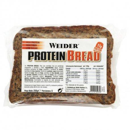 WEIDER PROTEIN BREAD 250 G.