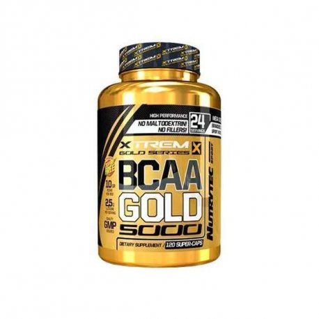 XTREME GOLD BCAA'S 2:1:1 GOLD 320 CAPS.