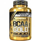 XTREME GOLD BCAA'S 8:1:1 GOLD 120 CAPS.