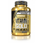 XTREME GOLD VITAMIN GOLD 120 CAPS.