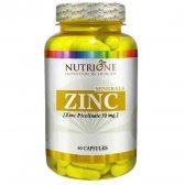 NUTRYTEC NUTRIONE ZINC PICOLINATO 50 MCG 60 CAPS.