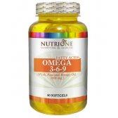 NUTRYTEC NUTRIONE OMEGA 3-6-9 1000 MG 80 CAPS.