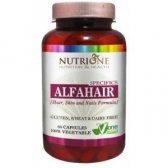 NUTRYTEC NUTRIONE ALFAHAIR 530 MG 60 CAPS.