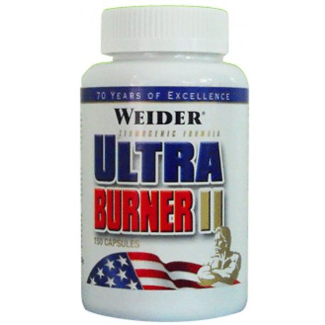 WEIDER ULTRA BURNER II 150 CAPS.