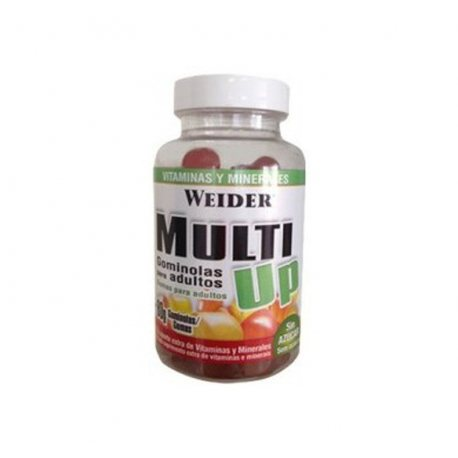 WEIDER MULTI-UP VITAMINAS 80 GOMINOLAS