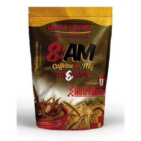 NUTRISPORT 8:AM OATS PROTEIN CAFFEINE + MG 650G