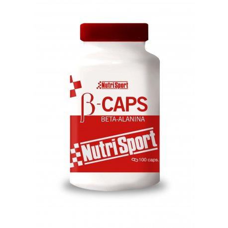 NUTRISPORT B-CAPS BETA-ALANINA 100 CAPS