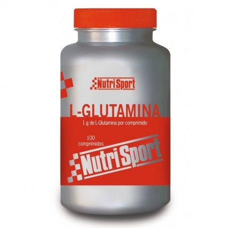 NUTRISPORT L-GLUTAMINA 100 TABS. 1G