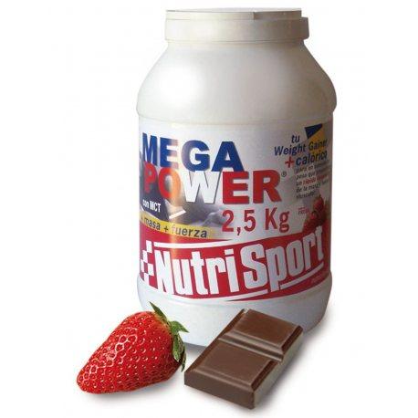 NUTRISPORT MEGA POWER BOTE 2,5 KG