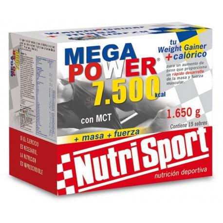 NUTRISPORT MEGA POWER CAJA 40 SOBRES