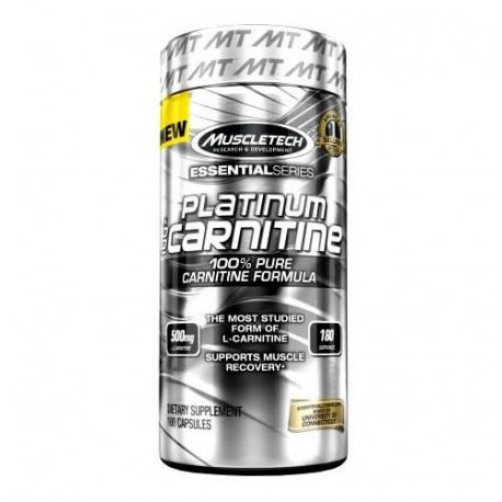 MUSCLETECH PLATINUM L-CARNITINA 180 CAPS.