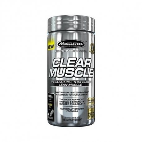 MUSCLETECH CLEAR MUSCLE 168 CAPS.
