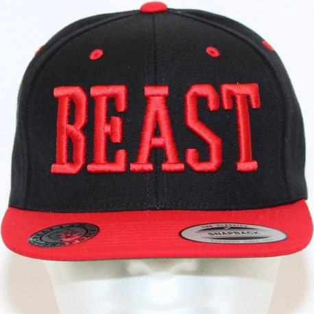 GREAT I AM GORRA BEAST NEGRO Y ROJO