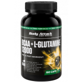 BODY ATTACK BCAA+GLUTAMINE 12000 180 CAPS