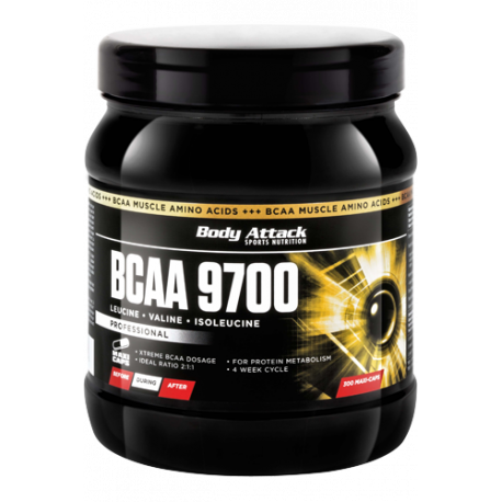 BODY ATTACK BCAA 9700 300 CAPS.
