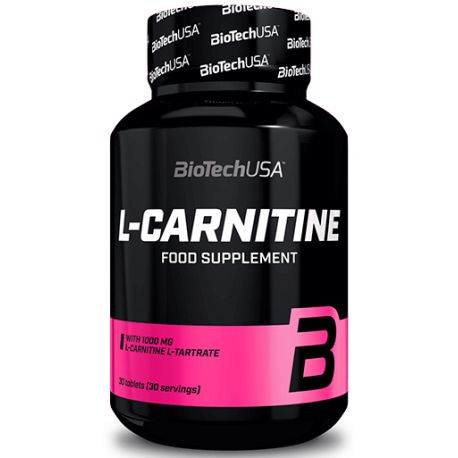 BIOTECH USA L-CARNITINE 1000MG 30 TABLETS