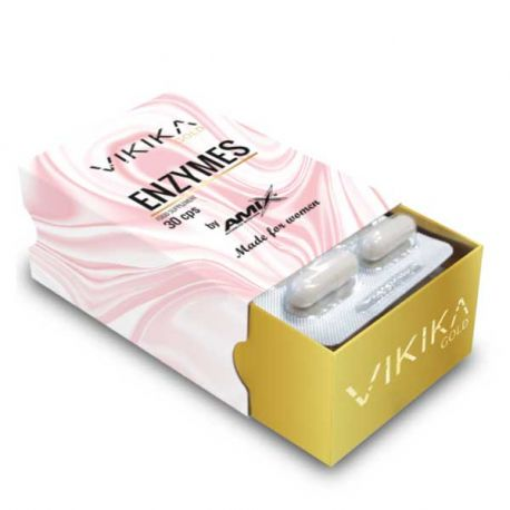 VIKIKA GOLD ENZYMES 30 CAPS 21,3G
