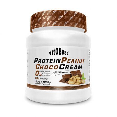 VIT.O.BEST CREAM PROTEIN PEANUT CHOCO 1KG