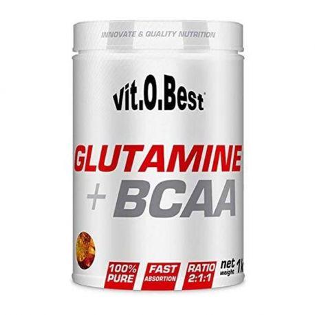 VIT.O.BEST GLUTAMINE + BCAA 1000G VARIOS SABORES