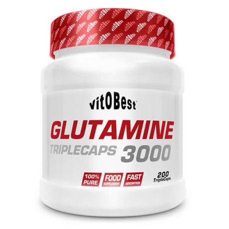 VIT.O.BEST GLUTAMINE 3000 - 200 TRIPLECAPS