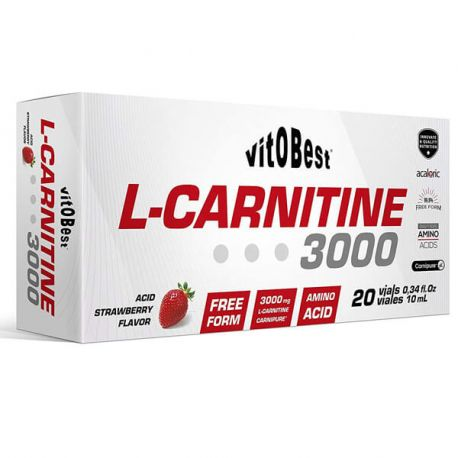 VIT.O.BEST L-CARNITINE 3000 - 20 VIALES 10ML