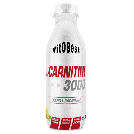 VIT.O.BEST L-CARNITINE 3000 - 500ML VARIOS SABORES