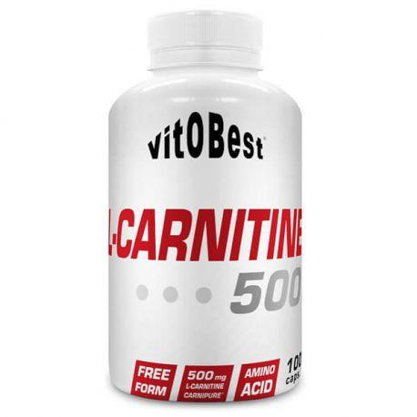 VIT.O.BEST L-CARNITINE 500 - 100 CAPS