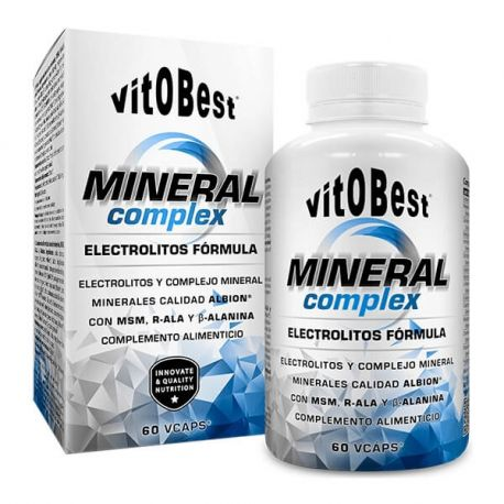 VIT.O.BEST MINERAL COMPLEX 60 VCAPS.