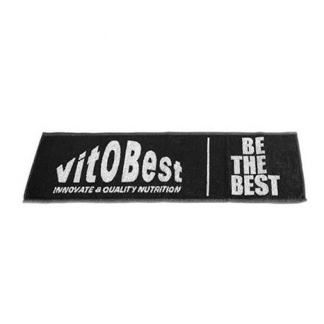 VIT.O.BEST TOALLA NEGRA BE THE BEST
