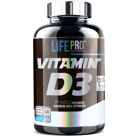 LIFE PRO D3 4000 UI WITH OLIVE OIL 90 SOFTGELS