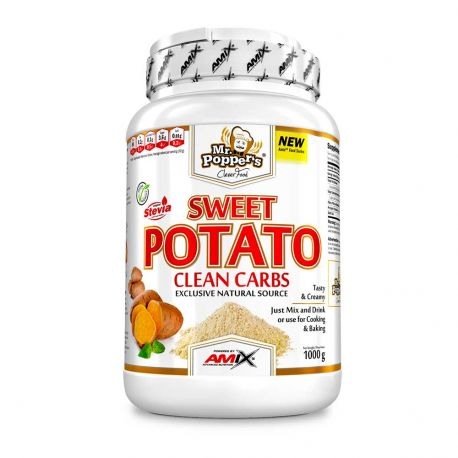 AMIX SWEET POTATO CLEAN CARBS 1KG SABORES