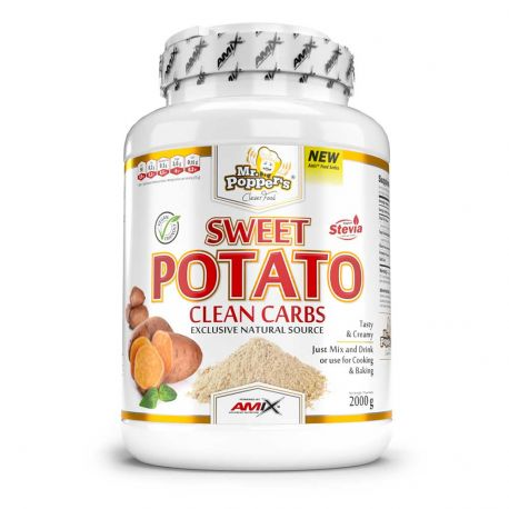 AMIX SWEET POTATO CLEAN CARBS 2KG SABORES
