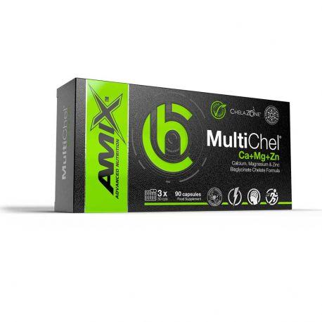 AMIX CHELAZONE® MULTICHEL® CA+MG+ZN 90 VCAPS