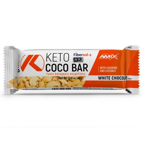 AMIX KETOLEAN® KETO GOBHB® COCO BAR 40G