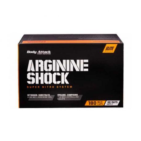 BODY ATTACK ARGININE SHOCK 180 CAPS