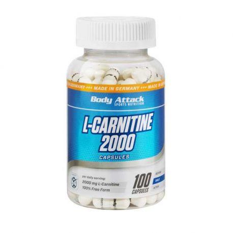 BODY ATTACK L-CARNITINE 2000 100 CAPS