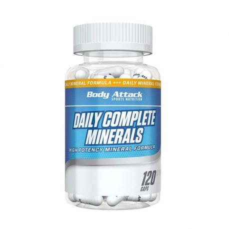 BODY ATTACK DAILY COMPLETE MINERALS 120 CAPS