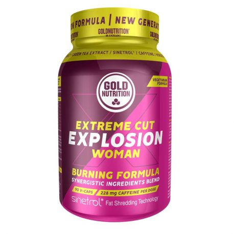 GOLDNUTRITION EXTREME CUT EXPLOSION WOMAN - 90 VCAPS