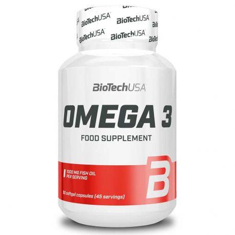 BIOTECH USA MEGA OMEGA 3 180 SOFTGEL CAPS