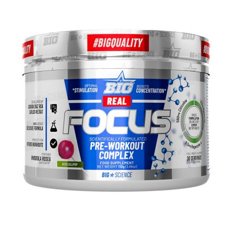 BIG REAL FOCUS WITH STIMULANTS 110G