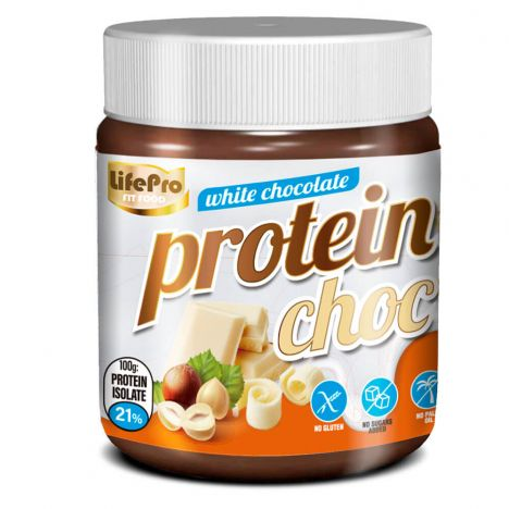 LIFE PRO FIT FOOD PROTEIN CREAM WHITE CHOCOLATE 250G