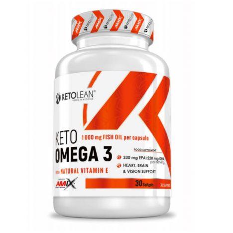 AMIX KETOLEAN® KETO OMEGA 3 30 CAPS