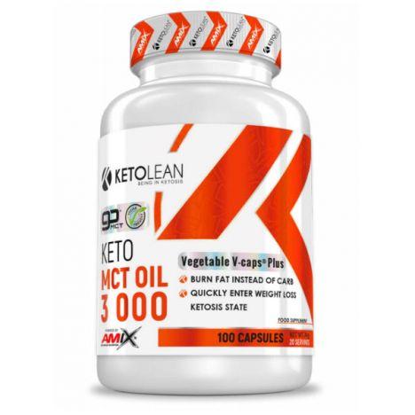 AMIX KETOLEAN® KETO MCT OIL 3000MG 100CAPS