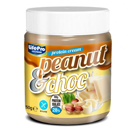 LIFE PRO FIT FOOD PROTEIN CREAM PEANUT CHOC 250G